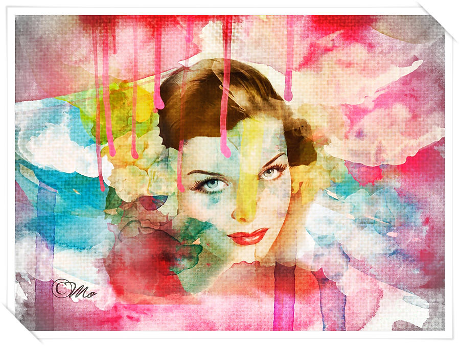 Woman's Soul Prelude Digital Art - Womans Soul Prelude by Mo T