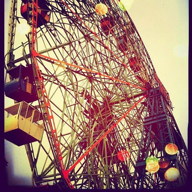 Wonder Wheel Photograph by Fireblue Venus