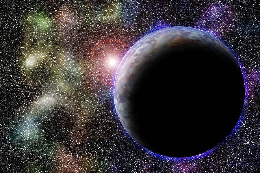 Planets Digital Art - Wonders Of Space by Barry Jones