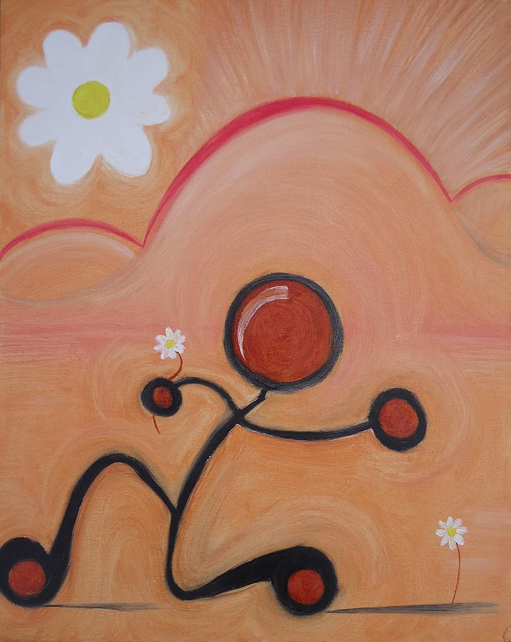 Woo Painting - Woo - To Seek The Affection Of With Intent To Romance. by Cory Green