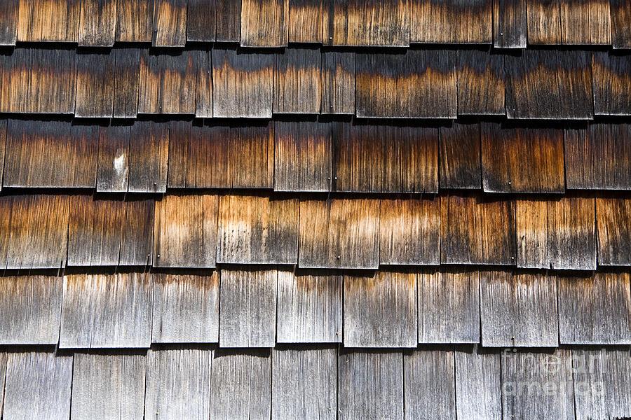 Wood Shingles Photograph By Paul Edmondson