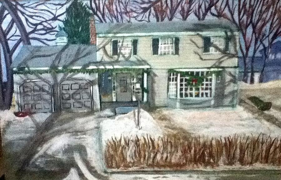 House Painting - Woodbury 1968 by Richard  Hubal