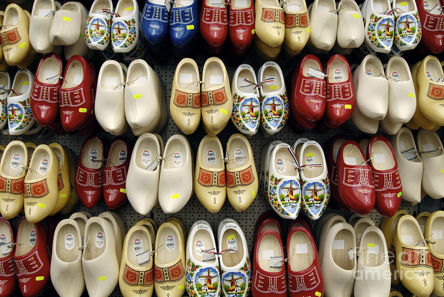 Wooden Photograph - Wooden Shoes by Ed Rooney