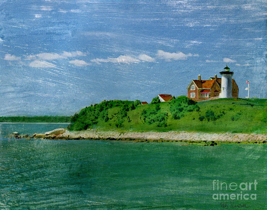 Woods Hole Lighthouse by Bob Senesac