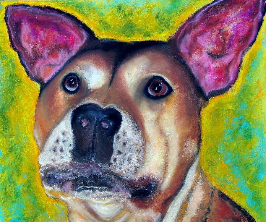 Paintings Painting - Woof Woof by Laura  Grisham