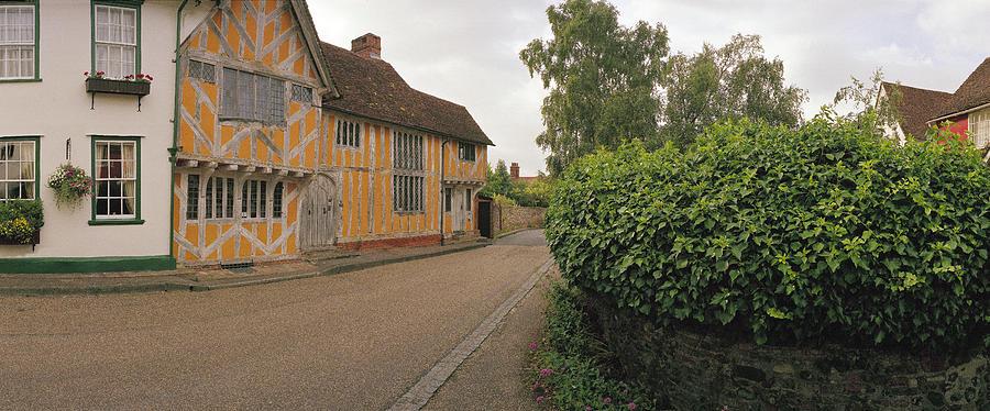 Half-timbered House Photograph - Wool Merchant House Lavenham by Jan W Faul