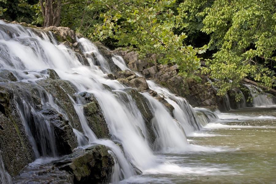 Waterfall Photograph - Woosh  by Betsy Knapp