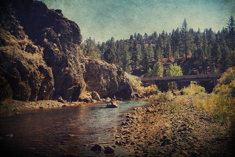 Carson River Photograph - Words Left Unspoken by Laurie Search