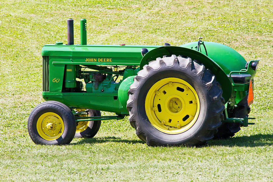Tractor Photograph - Workhorse by Wayne Stabnaw