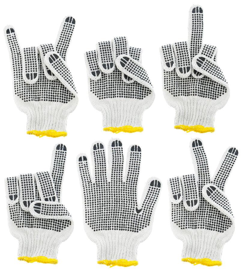 Gloves Tapestry - Textile - Working Gloves  by Aleksandr Volkov