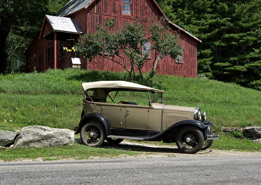 Automobile Photograph - Workshop by Tom Heeter