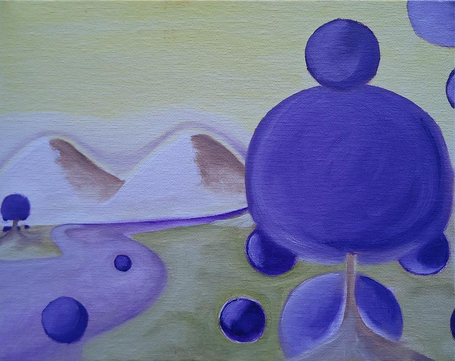 Spiritual Painting - World C by Cory Green