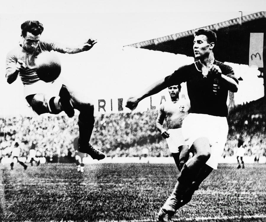 1938 Photograph - World Cup, 1938 by Granger