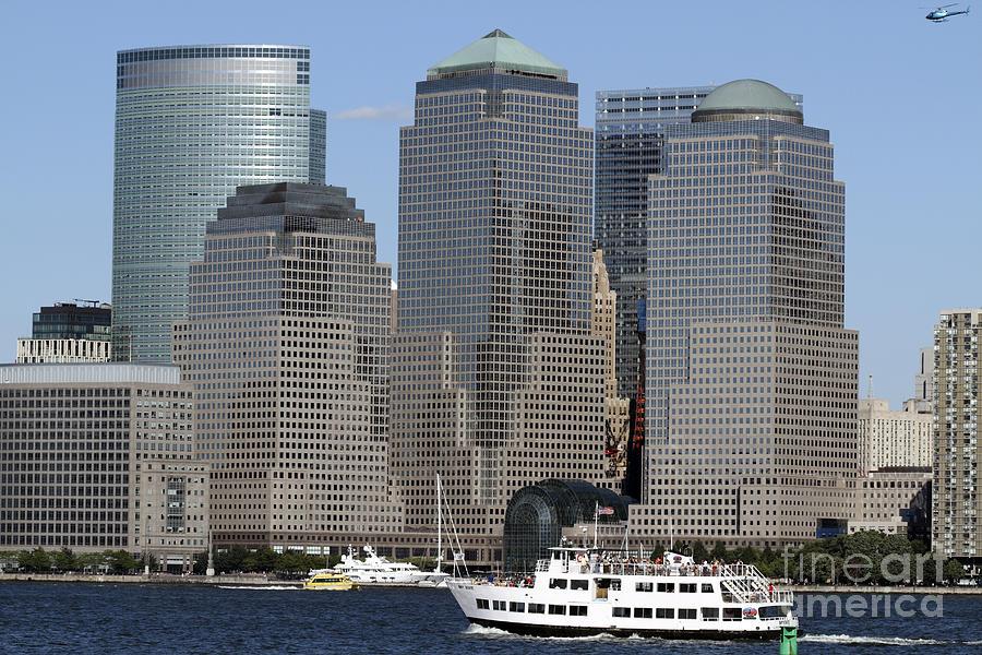 Goldman Sachs Photograph - World Financial Center Nyc by John Van Decker