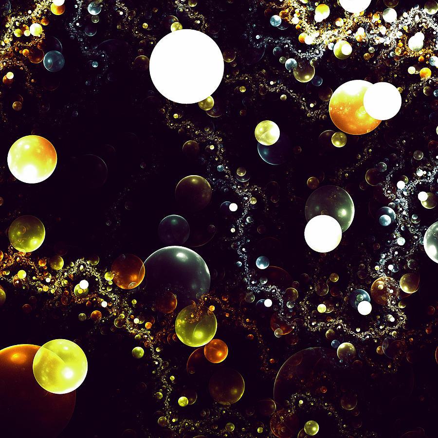 World Of Bubbles Digital Art by Steve K