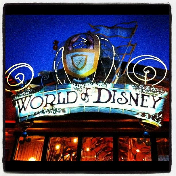 World Photograph - World of Disney by Lea Ward