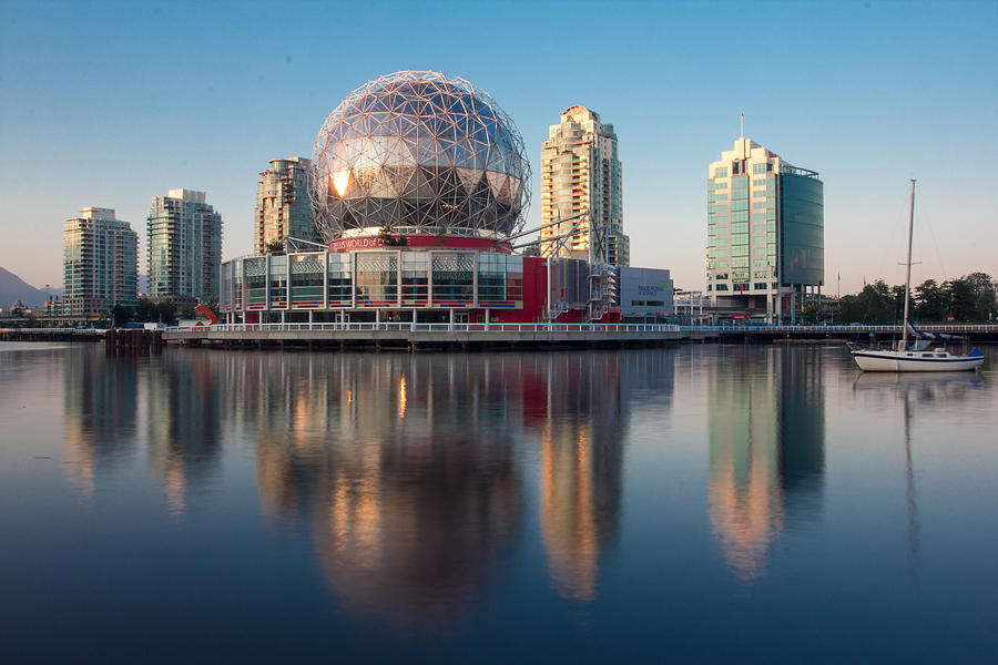 Vancouver Photograph - World of Science by Mirco Millaire