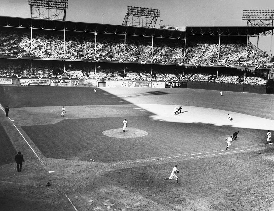 1941 Photograph - World Series, 1941 by Granger