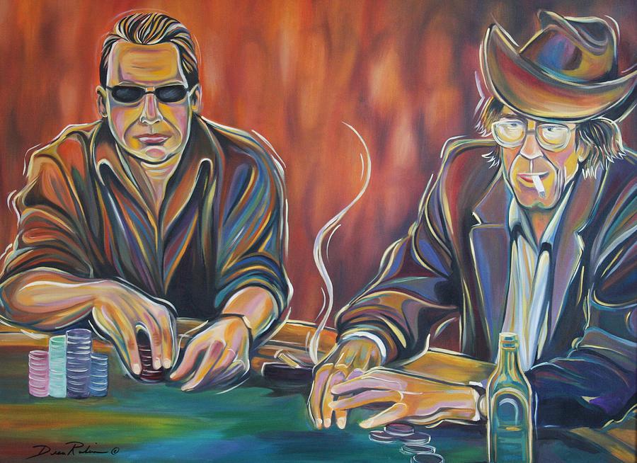 Poker Painting - World Series Of Poker by Redlime Art