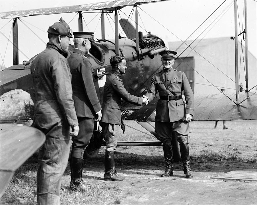 1910s Photograph - World War I, Captain Strus Second by Everett