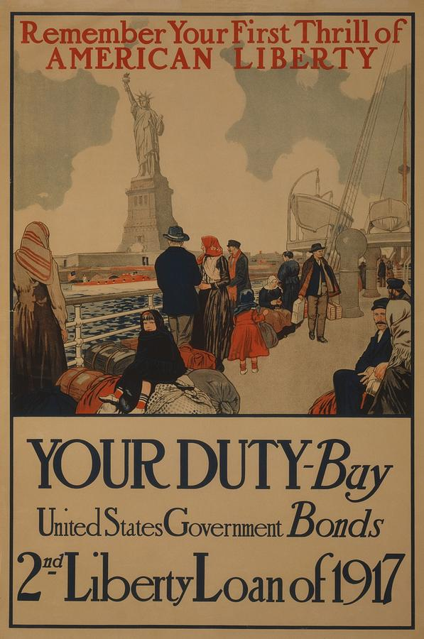 History Photograph - World War I Poster Aimed At Recent by Everett