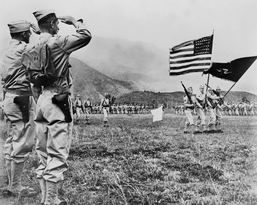 1940s Photograph - World War II, Brigadier General E.b by Everett