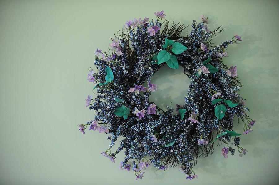 Wreath Photograph - Wreath by Brandon McNabb
