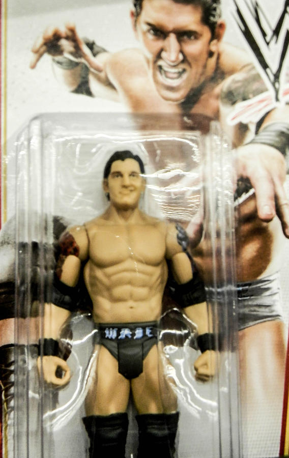 Action Figure Photograph - Wrestling Toy by Christy Usilton