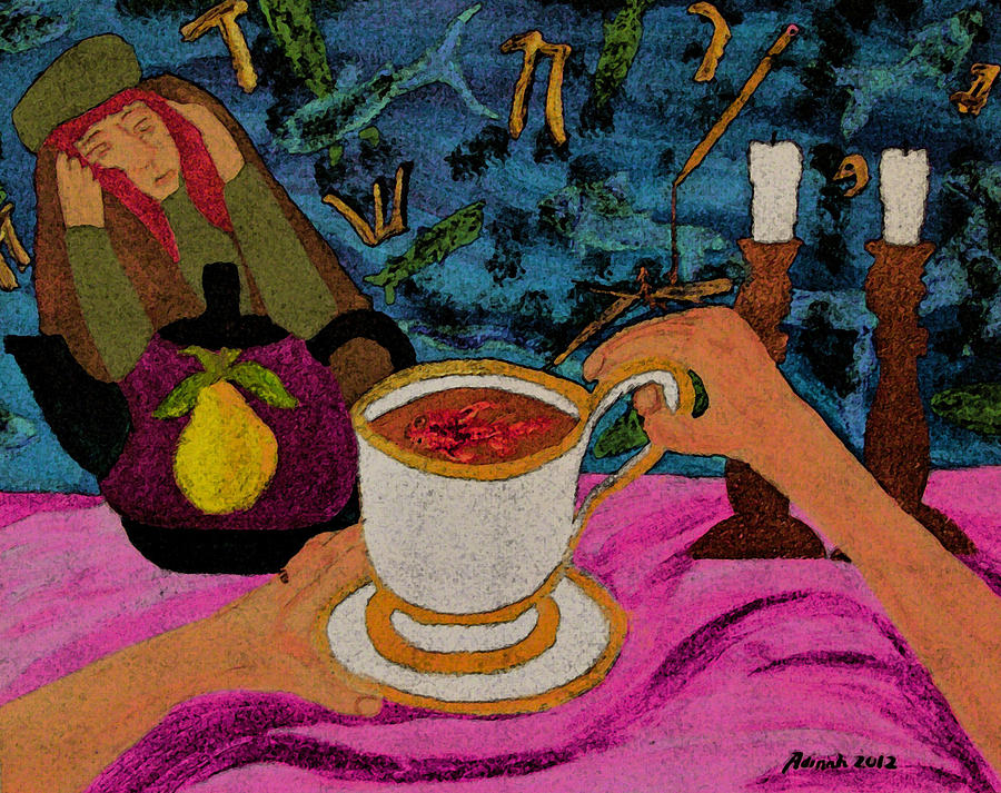 Writer's Block Painting - Writers Block by Adinah John
