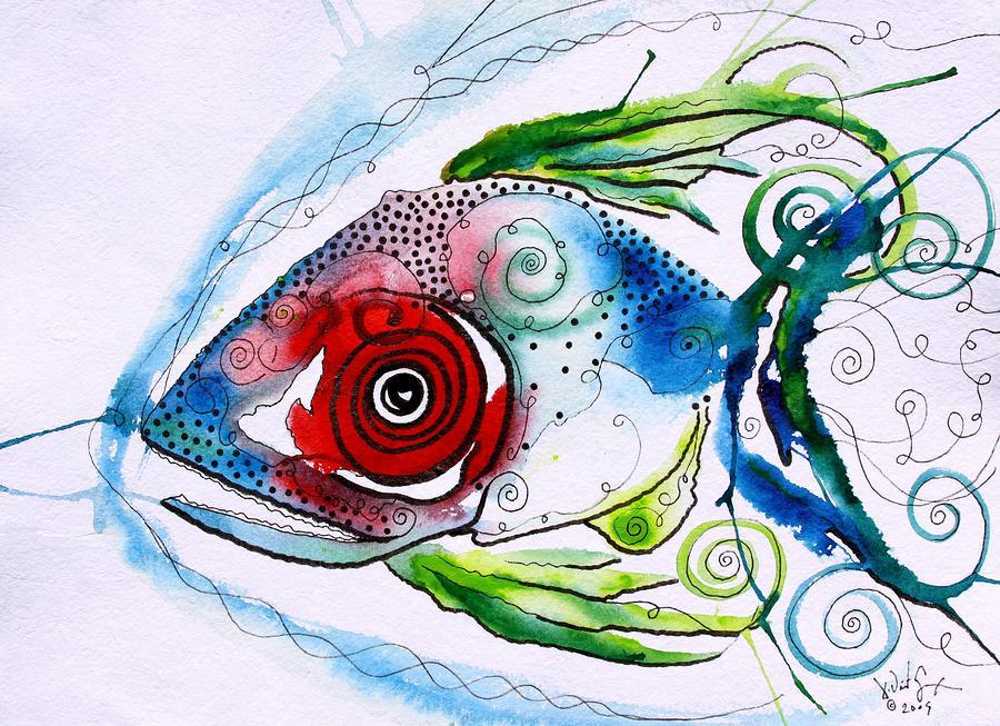 Wtfish 001 Painting