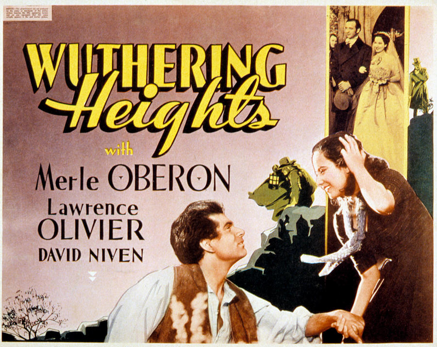 1930s Movies Photograph - Wuthering Heights, Laurence Olivier by Everett