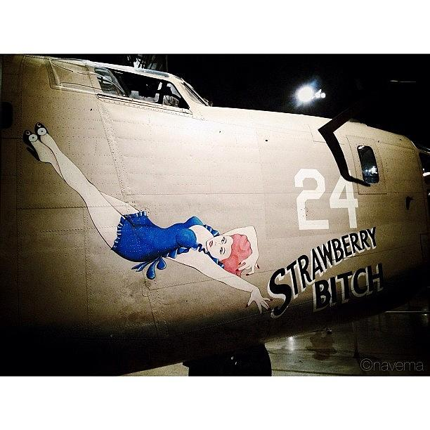 Airplane Photograph - Ww2 Consolidated B-24d Liberator by Natasha Marco