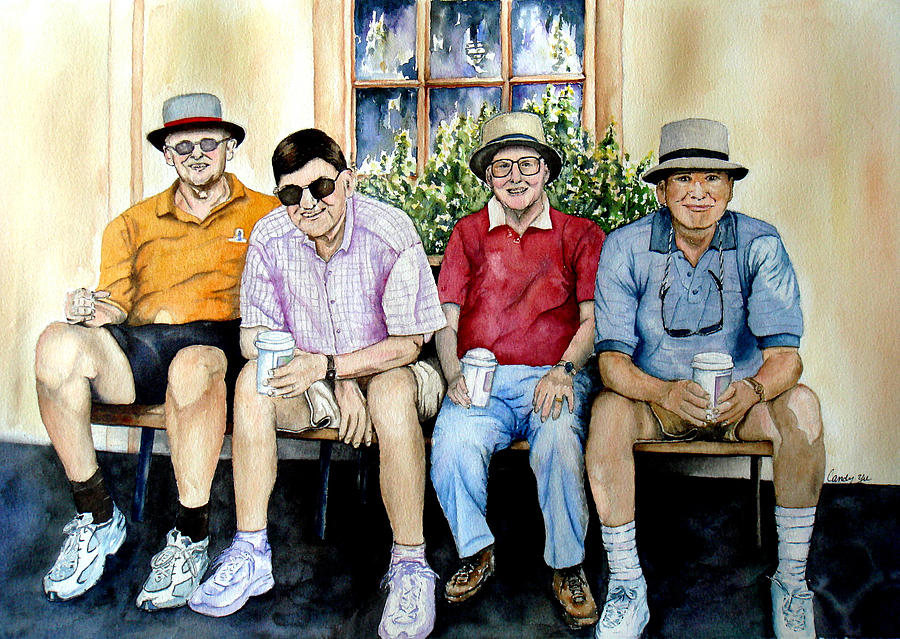 People Painting - Wwii Heroes by Candy Yu