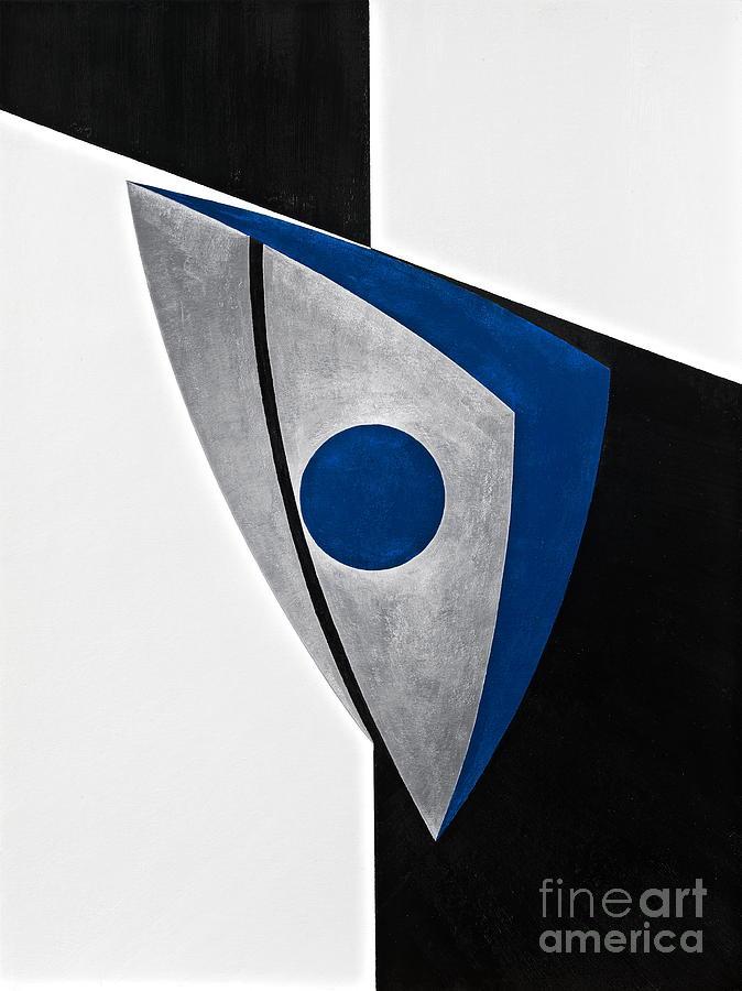 Geometric Painting - X-fiction by David Senouf