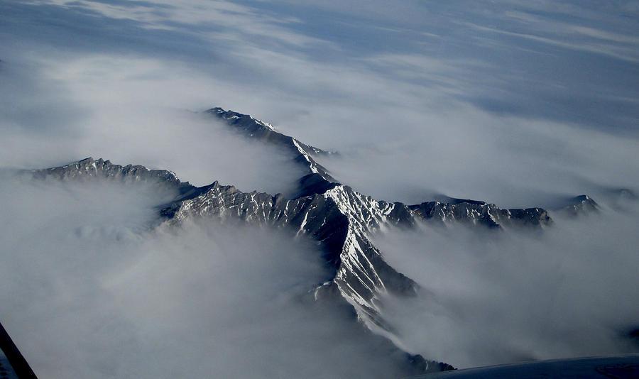 Alaska Photograph - X Marks The Spot by Mark Caldwell