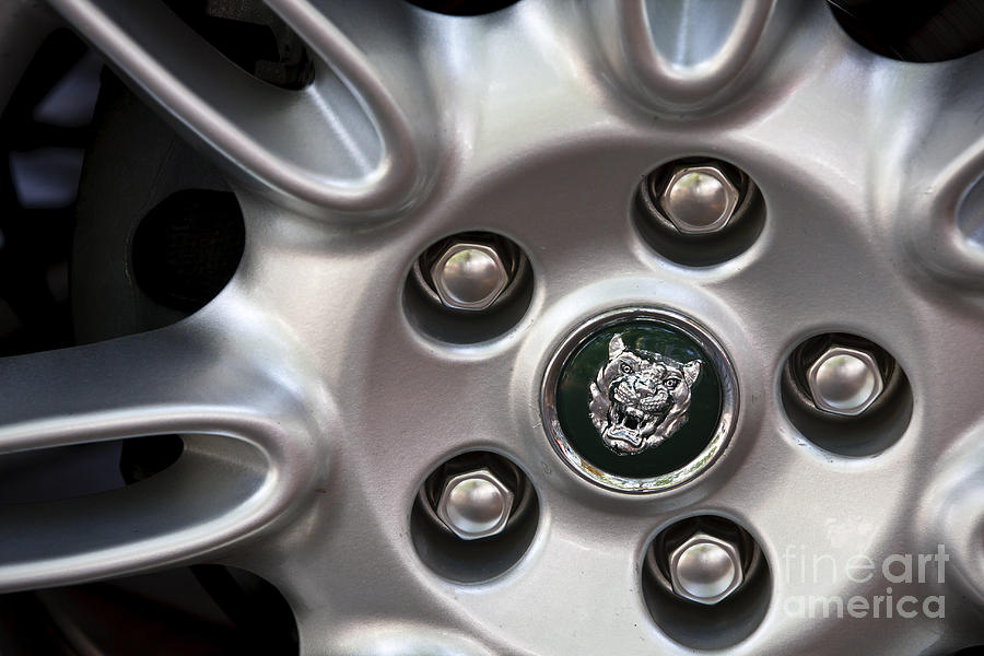 Jaguar Photograph - Xjs Wheel by Dennis Hedberg