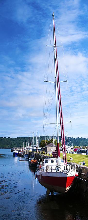 Yacht Photograph - Yacht  by Svetlana Sewell