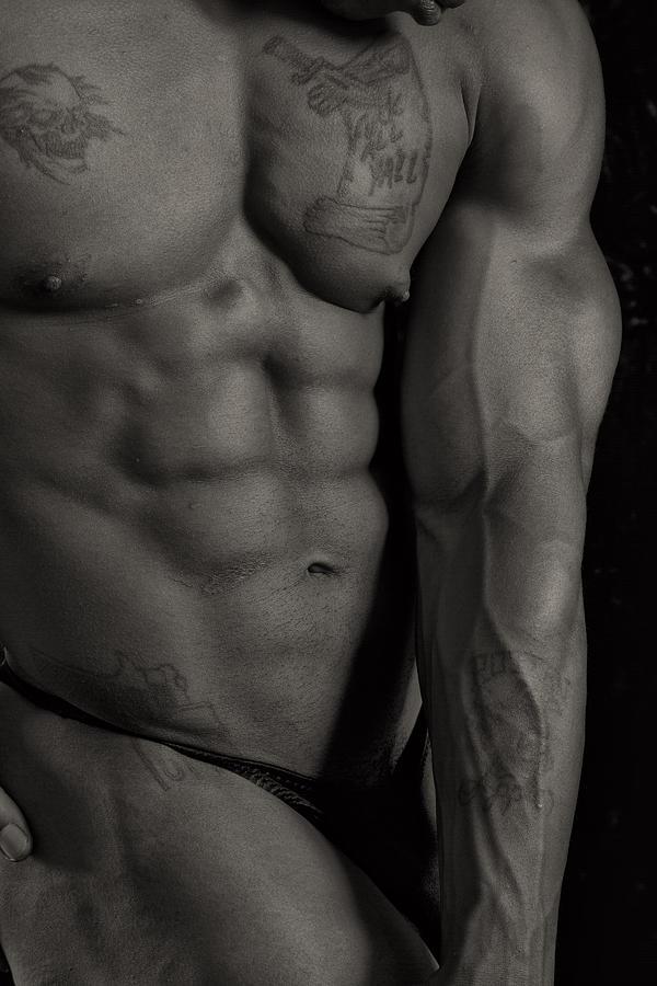 Bodybuilder Photograph - Yall by Thomas Mitchell