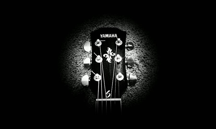 Yamaha Guitar Photograph By Sean Fulton