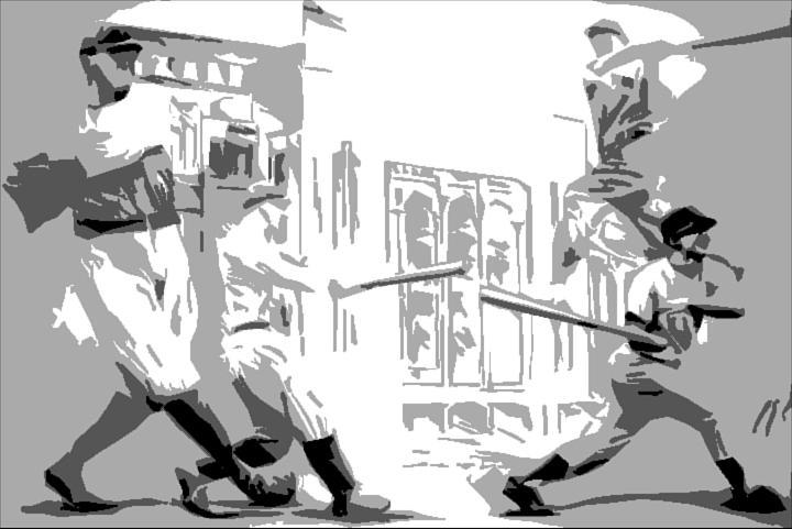 Yankees Digital Art - Yankee Greats Poster by Adam Barone