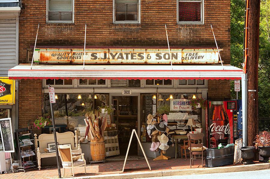 Howard County Photograph - Yates Market by Kenneth Losurdo