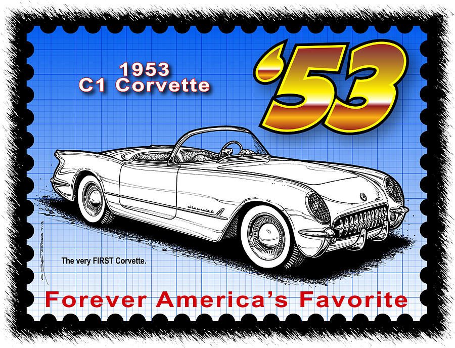 year-By-Year 1953 Corvette by K Scott Teeters
