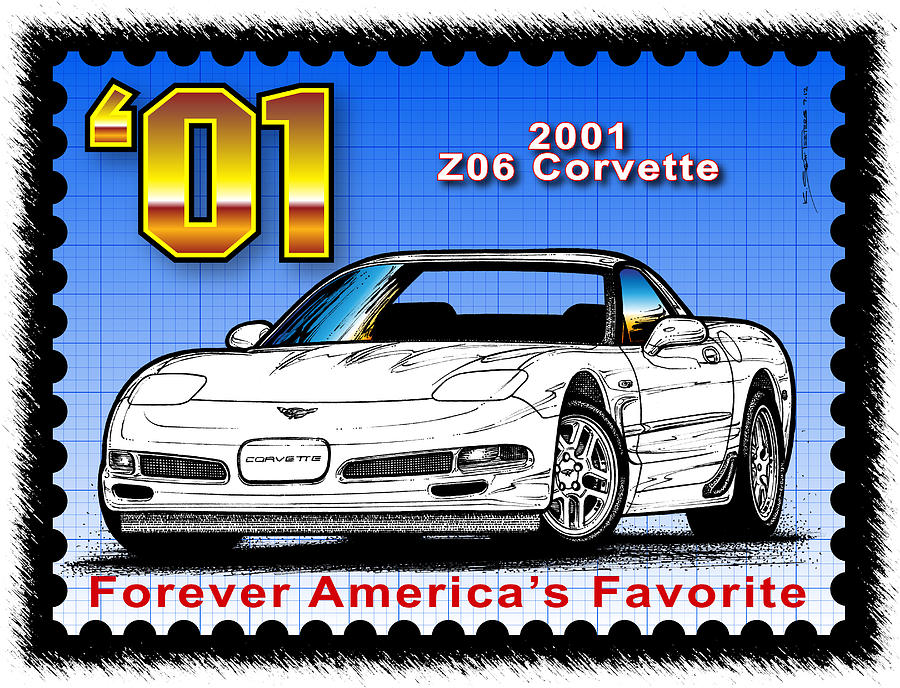 Year-By-Year 2001 Z06 Corvette by K Scott Teeters