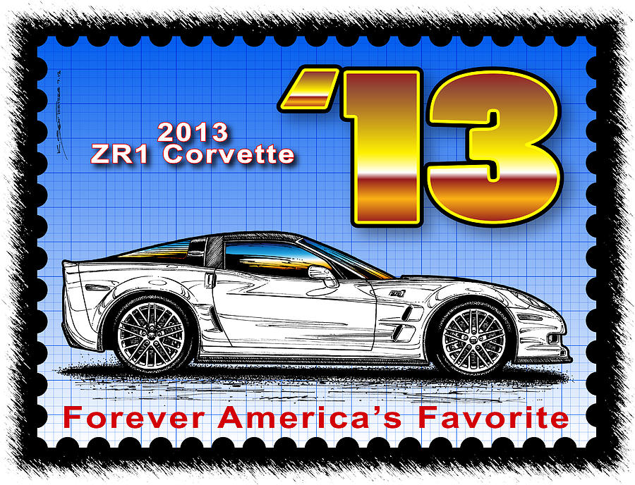 Year-By-Year 2013 ZR1 Corvette by K Scott Teeters