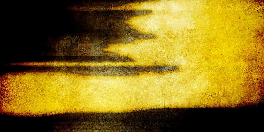 Brett Digital Art - Yellow by Brett Pfister