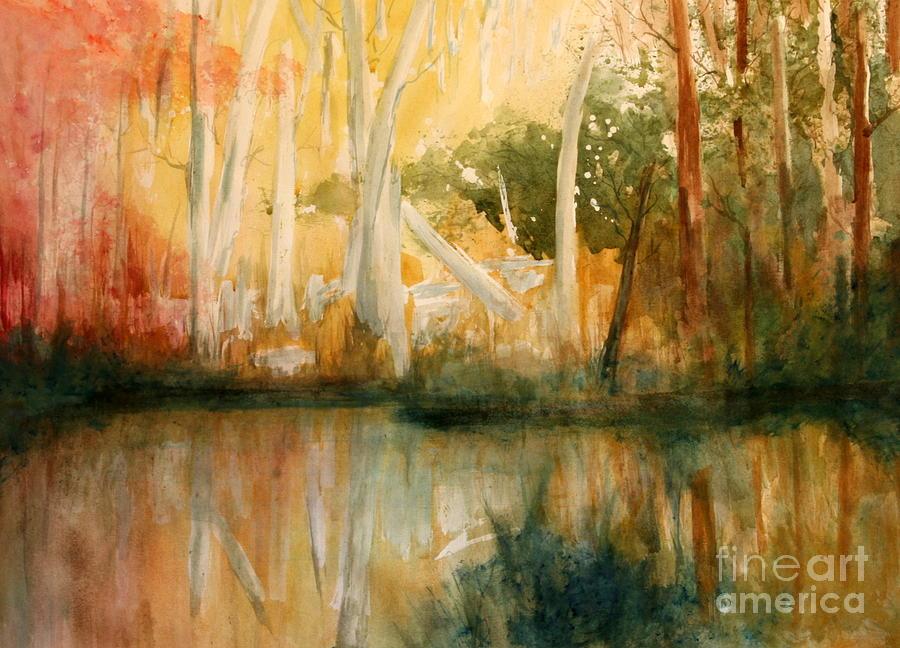 Paintings Painting - Yellow Medicine Creek 2 by Julie Lueders