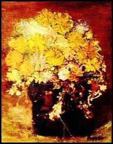 Acrylic Painting - Yellow Sun Flowers by Peggy Leyva Conley