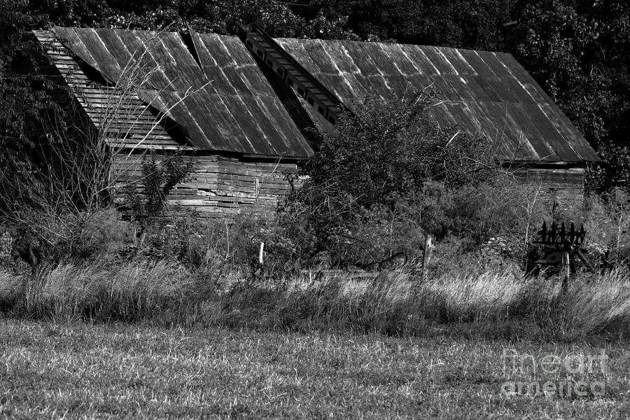 Abandoned Photograph - Yesterdays Barn by Alan Look