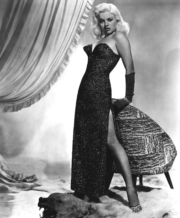 1950s Fashion Photograph - Yield To The Night, Aka Blonde Sinner by Everett