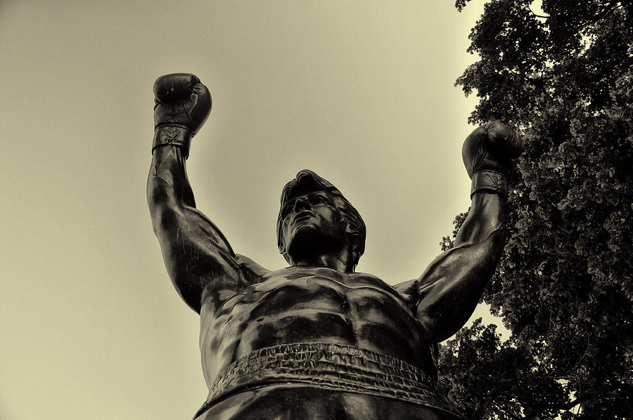 Rocky Photograph - Yo Rocky by Bill Cannon